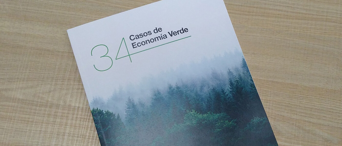 ZERØ, among the 34 Green Economy cases of GECV.
