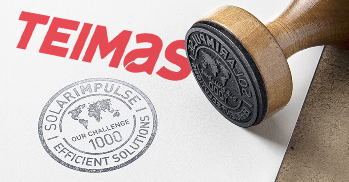 TEIMAS is awarded the Solar Impulse label for its digital platform for intelligent waste management