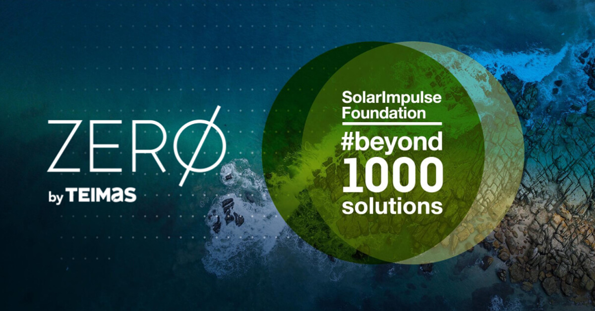 ZERØ, entre as #1000 Solutions de Solar Impulse